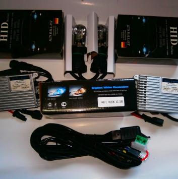 Комплект bi-ксенона BlueLight AC 24V 35W. Цоколь: H4.