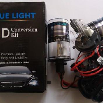 Лампа bi-ксеноновая BlueLight H4 (дальний - галоген)