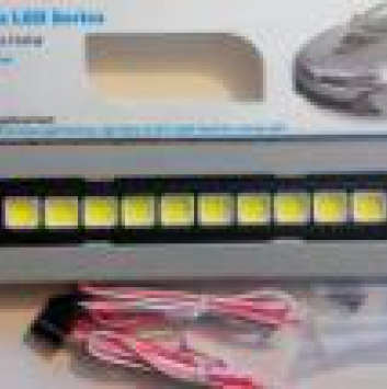 G13 Ходовые огни DRL C713WA-18816-80A1 White Grid COB 80LED (2шт)