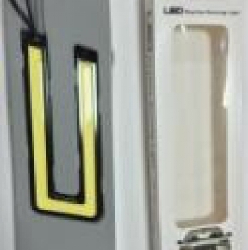 G9 Ходовые огни DRL JC713W1-14015-U100A1 White 100LED U-TYPE (2шт)