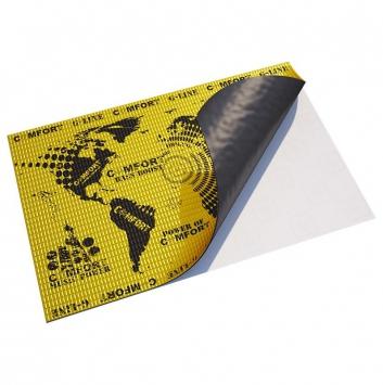 виброизоляция comfort mat g3 (500*700*3мм)