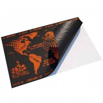 виброизоляция comfort mat d2 (500*700*2,3мм)