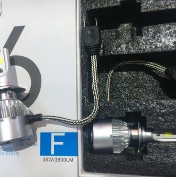Лампы светодиодные С6 (38W) (2 шт)
