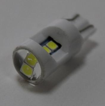 Лампочка светодиодная T10 3030-6SMD ceramic