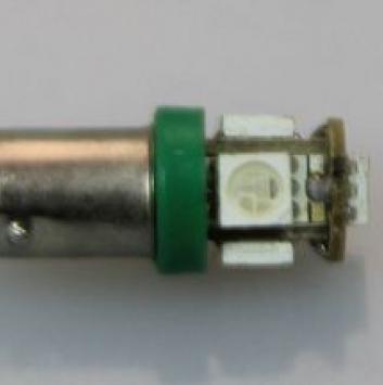 Лампочка светодиодная BA9S SMD5