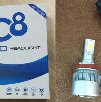 Комплект ламп светодиодных DF (2 шт)