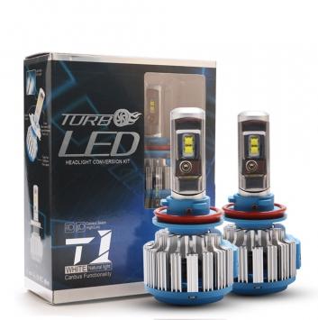 T1 Turbo H1 DC8-48V 6000K W К-т светодиодных ламп