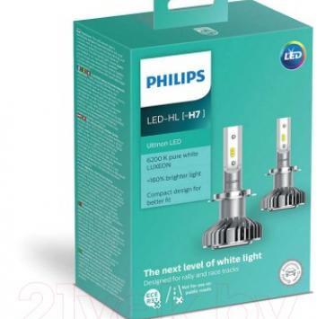 Комплект светодиодных ламп Philips H7