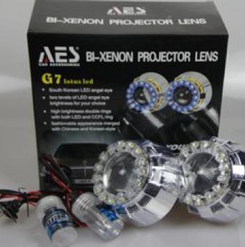 Комплект линз для фар AES G7 3 дюйма (2 шт)