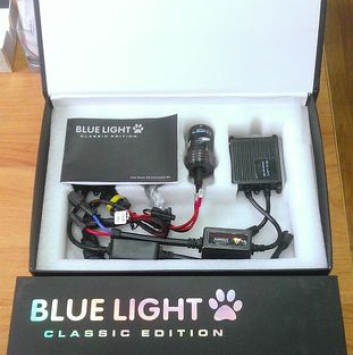 Комплект ксенона BlueLight AC 12V 35W. Цоколь: H1, H3, H7, H11, H27, HB3, HB4.